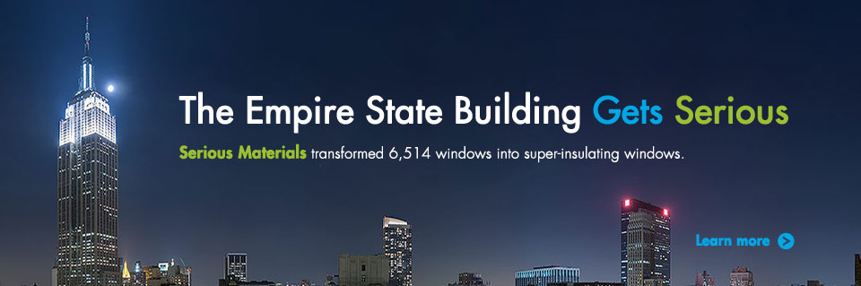 Empire Statue Building uses SeriousWindows